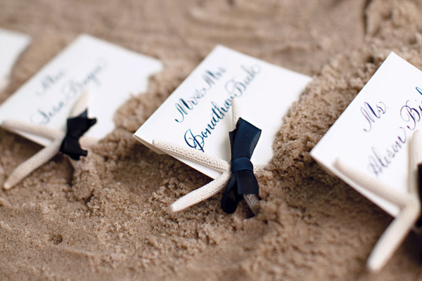 Beach Theme Escort Cards 1