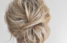 The Low Chignon hair tutorial