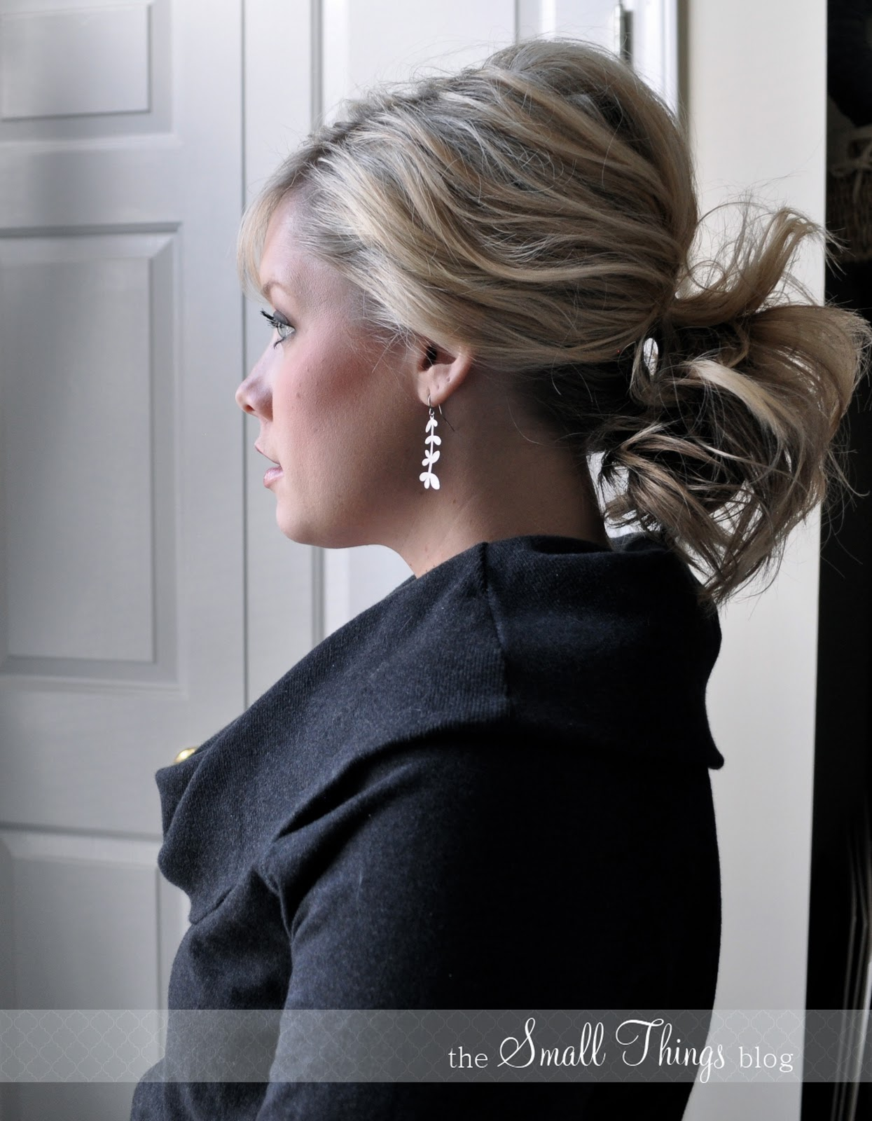 The Ponytail wedding hair tutorial