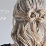 Waves and a Bow hair style