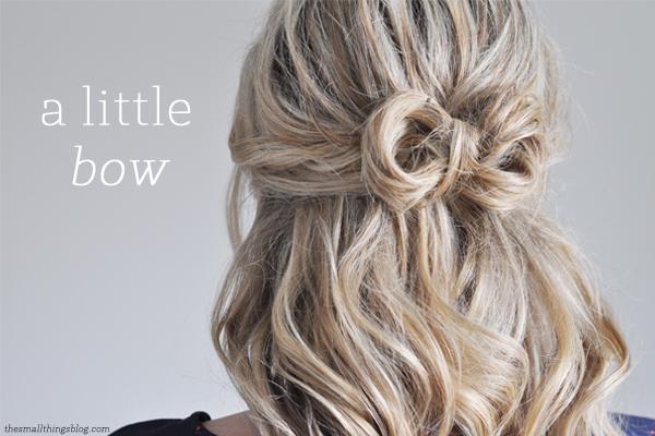 Hair Bow Styles: 6 Wedding Hairstyles