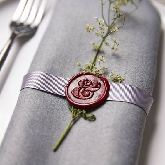 Red Wax Seal Idea