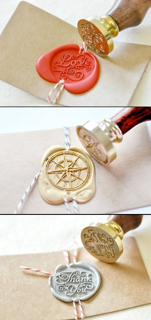 Different Wax Seal Ideas