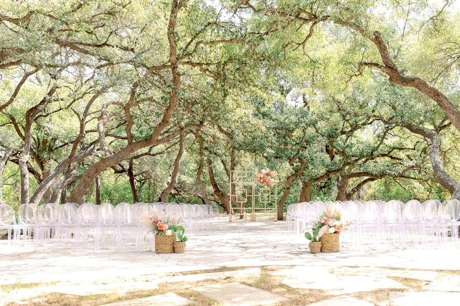 Austin outdoor wedding venue