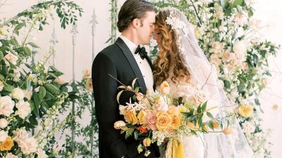 Outdated World Wedding ceremony Inspiration with Poetic Heirloom Particulars