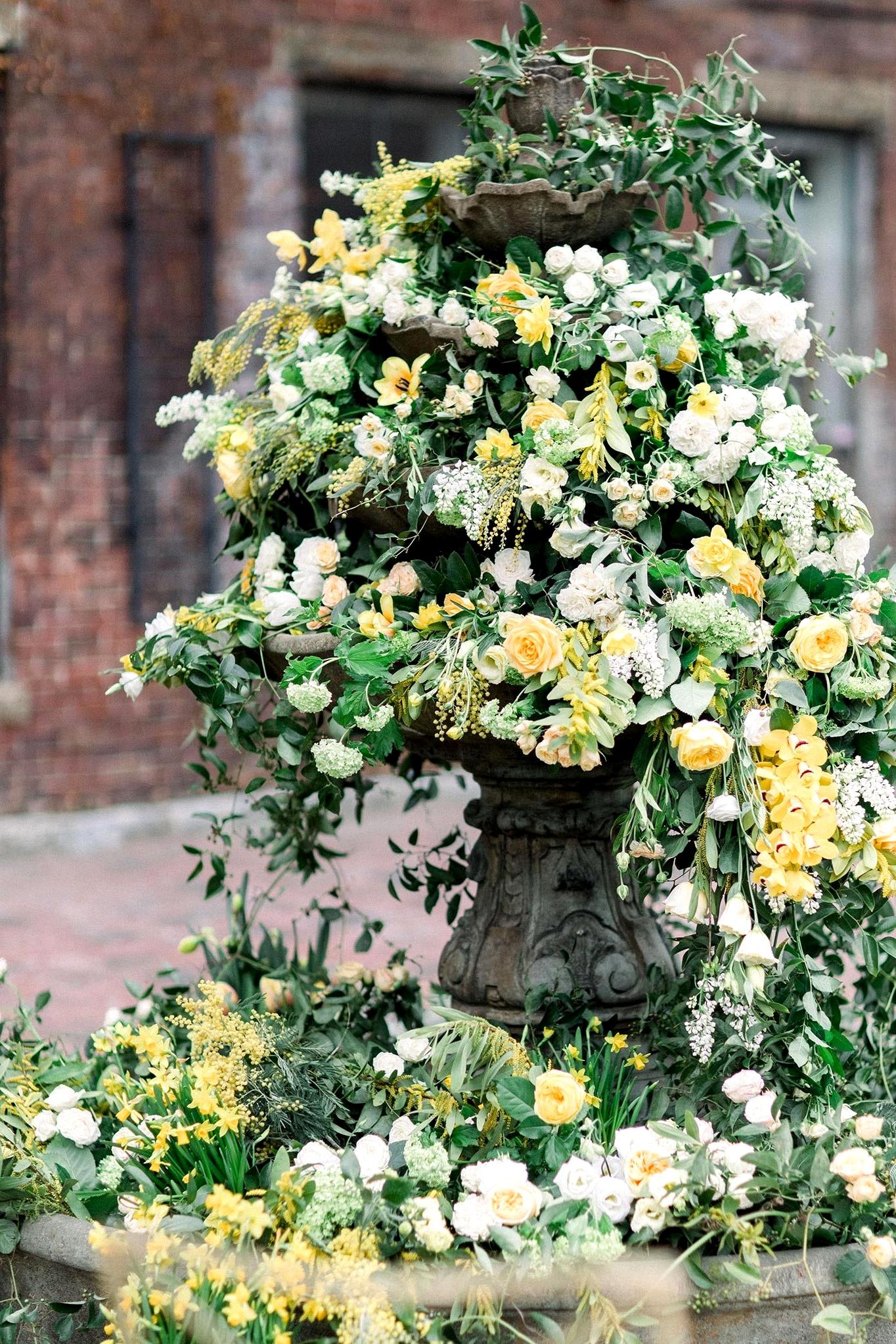 Botanical Sketch Wedding Inspo Teal Honey 019