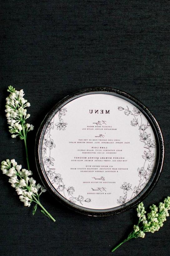 Botanical Sketch Wedding Inspo Teal Honey 022