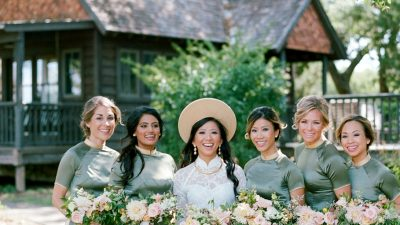 Vietnamese-Infused Heritage In This Fashionable Camp Lucy Wedding ceremony