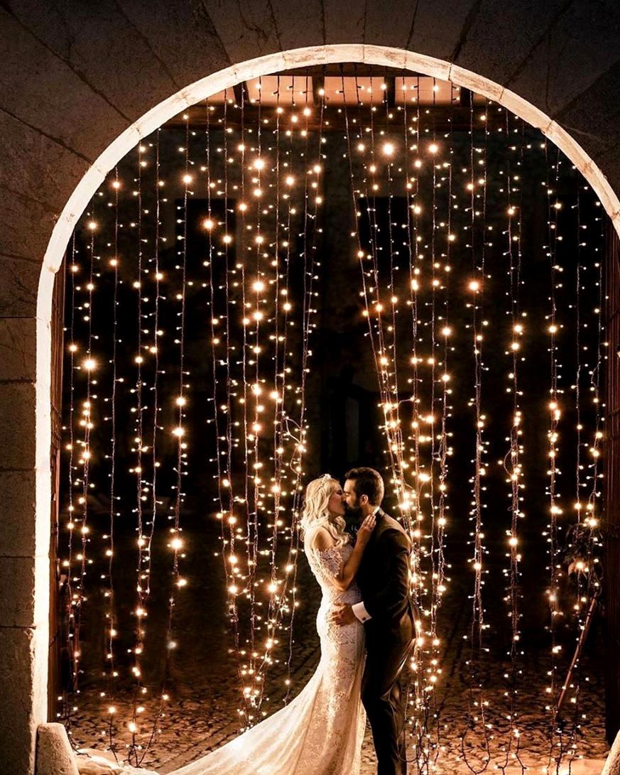 Fairy Stringlights Wedding 09