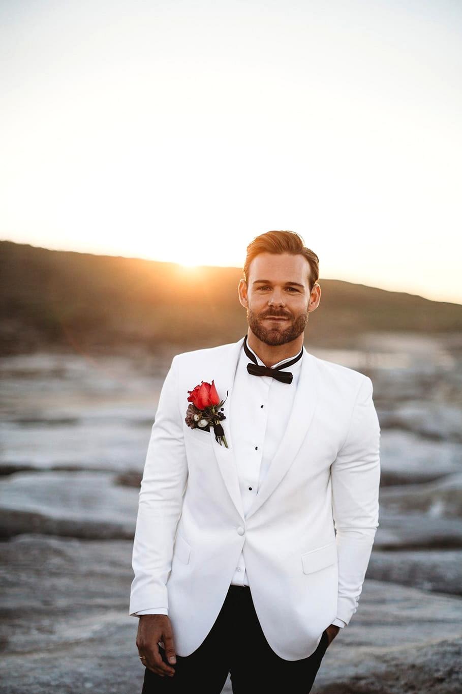 Luxe Coastal Wedding Inspiration | The Paper Fox