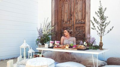 Moroccan Terrace Wedding ceremony Inspiration