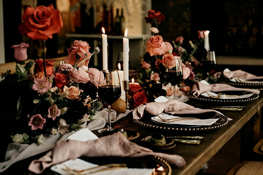 Natural Romantic Wedding Inspiration at a Rainforest Retreat