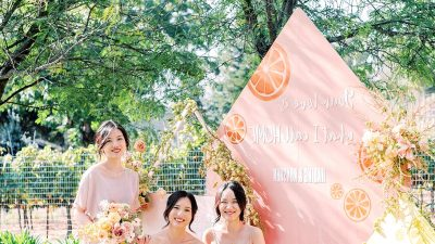 This Sunshine-Stuffed Marriage ceremony is Why We Love Fruit as Marriage ceremony Decor