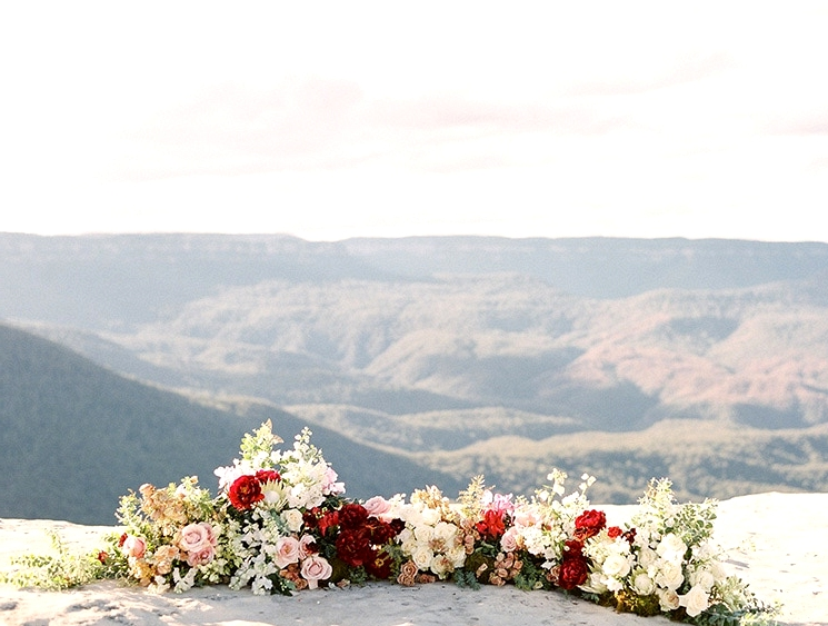 Picturesque Mountain Elopement Inspiration | We Are Origami