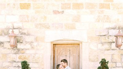 Romantic Sunstone Vineyard Wedding ceremony Inspiration