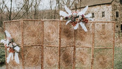 7 Artistic Ceremony Backdrops to Wow Your Marriage ceremony Friends