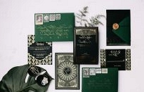 Emerald Art Deco Wedding Inspiration
