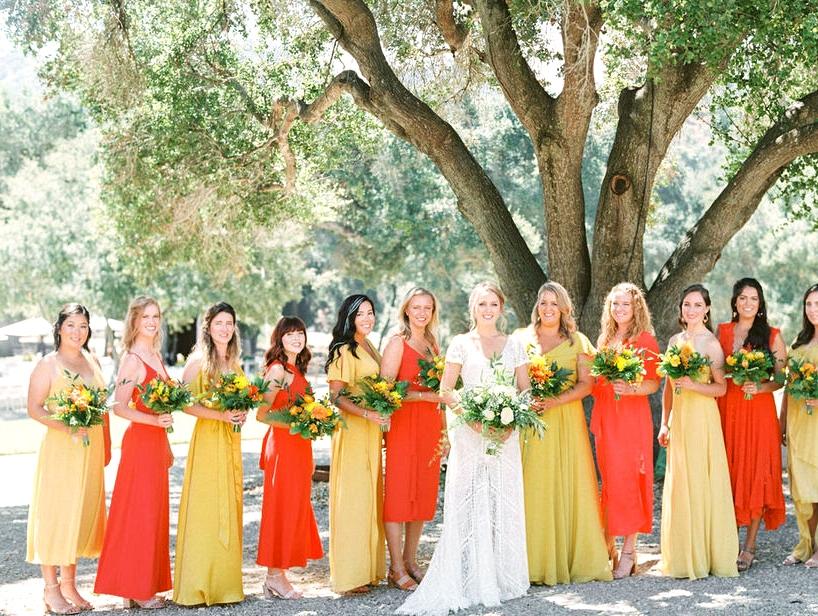 Colorful Arroyo Grande Wedding