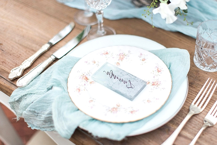 Pastel Vintage Garden Wedding Inspiration | Moments Photography