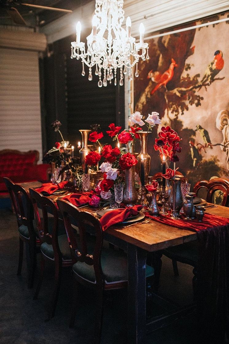 Lush Modern Wedding Inspiration |White Fox Studios