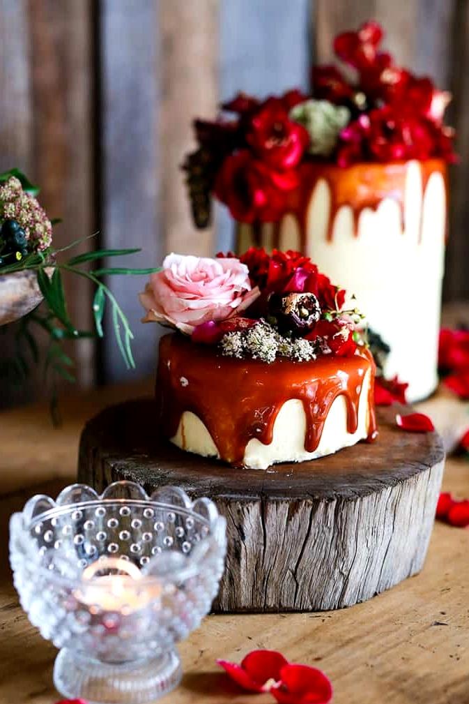 Rustic Berry Wedding Inspiration |Dream Bella Photography