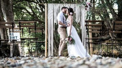 Rustic Boho Marriage ceremony Inspiration in Blush and Olive