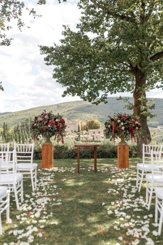 Wedding with 40 Guests ceremony