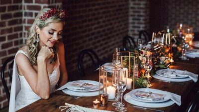 Trendy Copper & Burgundy Wedding ceremony Inspiration