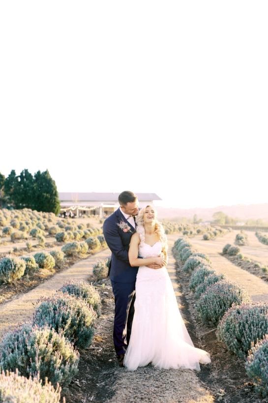 Kooroomba Lavendar Farm Wedding