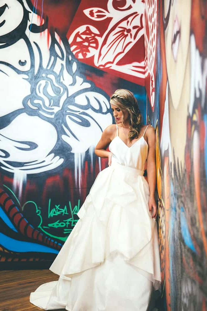 Urban Minimalist Wedding Inspiration | Klee Photography