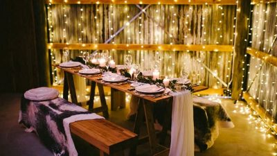 Pure Marriage ceremony Inspiration with an Illuminated Reception