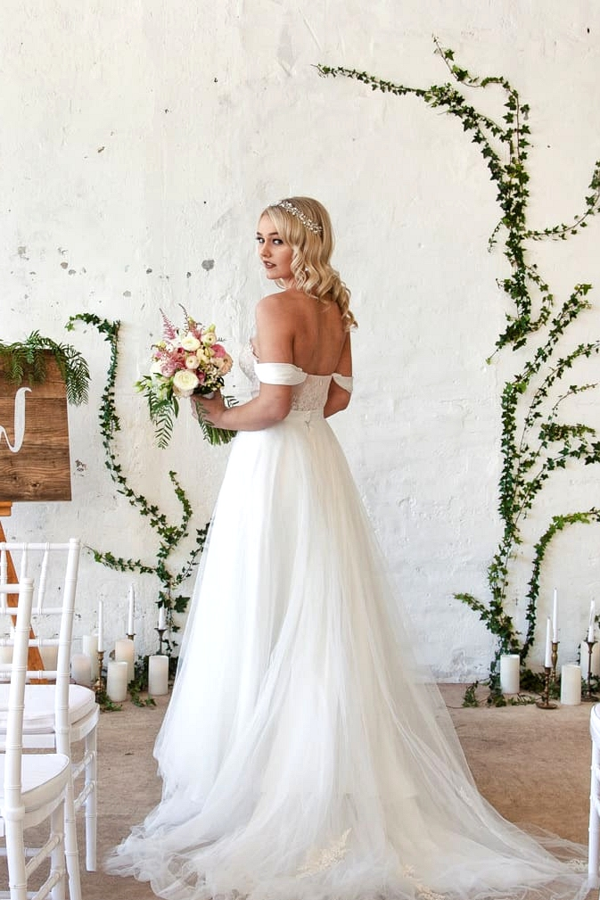 Romantic Indoor Garden Wedding Inspiration | Taylor Mitchell Photography