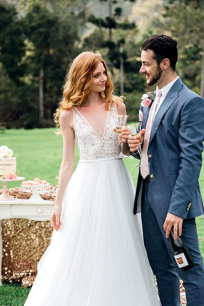 Modern Fairy Tale Wedding Inspiration   Lee Calleja Thomas Photography