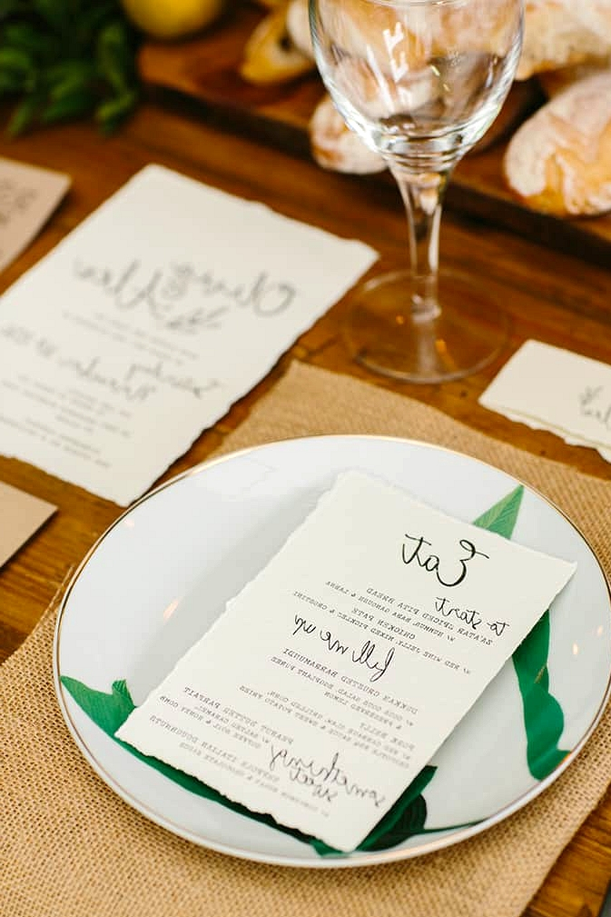 Modern Foodie Woodland Wedding Inspiration | Fifteen Photography