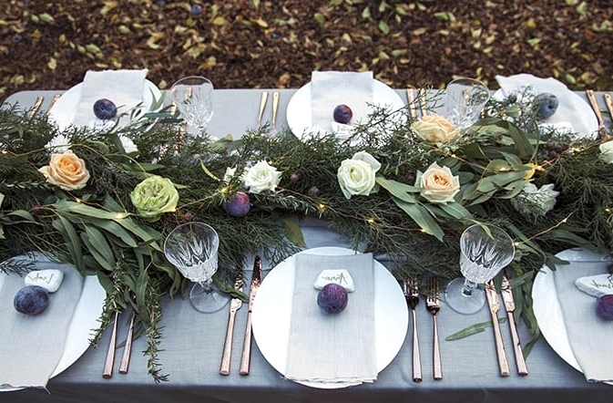 Orchard Inspired Wedding Ideas in Apricot and Plum | Taylor Mitchell Photography
