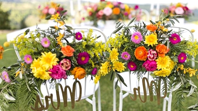 Shiny Wedding ceremony Concepts in a Summer season Sorbet Palette
