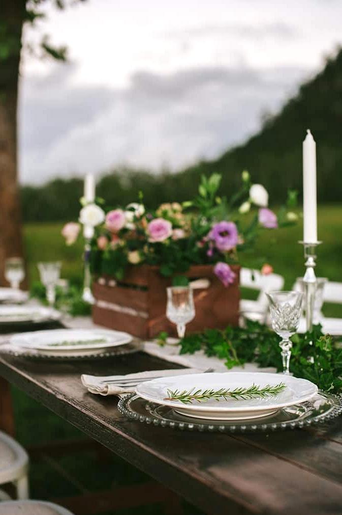 Romantic Country Wedding Inspiration |Dani Dury