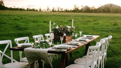 Romantic Nation Marriage ceremony Inspiration
