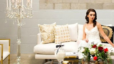 An Elizabeth Taylor Impressed Bridal Shoot
