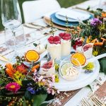 Vibrant Summer Garden Wedding Inspiration