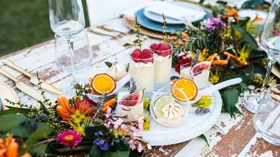 Vibrant Summer season Backyard Marriage ceremony Inspiration