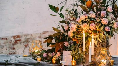 Moody Warehouse Wedding ceremony Inspiration