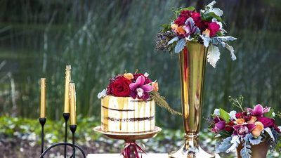 Lush Autumn Marriage ceremony Inspiration