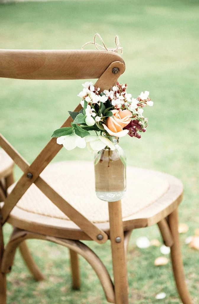 A Chic Rustic Wedding on the Foreshore
