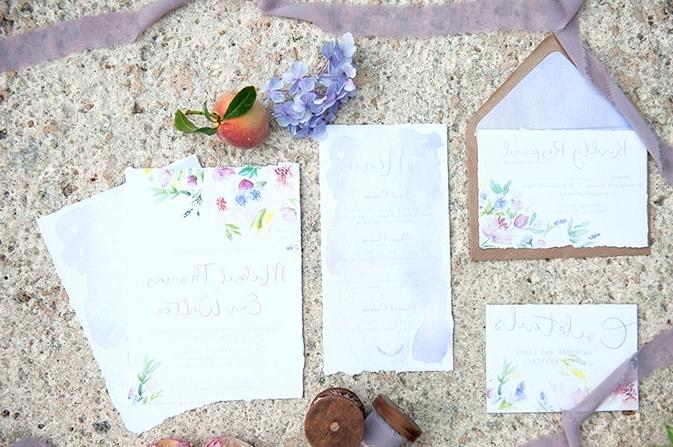 Watercolour-Garden-Wedding-Inspiration-Stationery