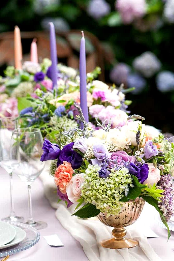 Watercolour-Garden-Wedding-Inspiration-Reception-Centrepiece-4