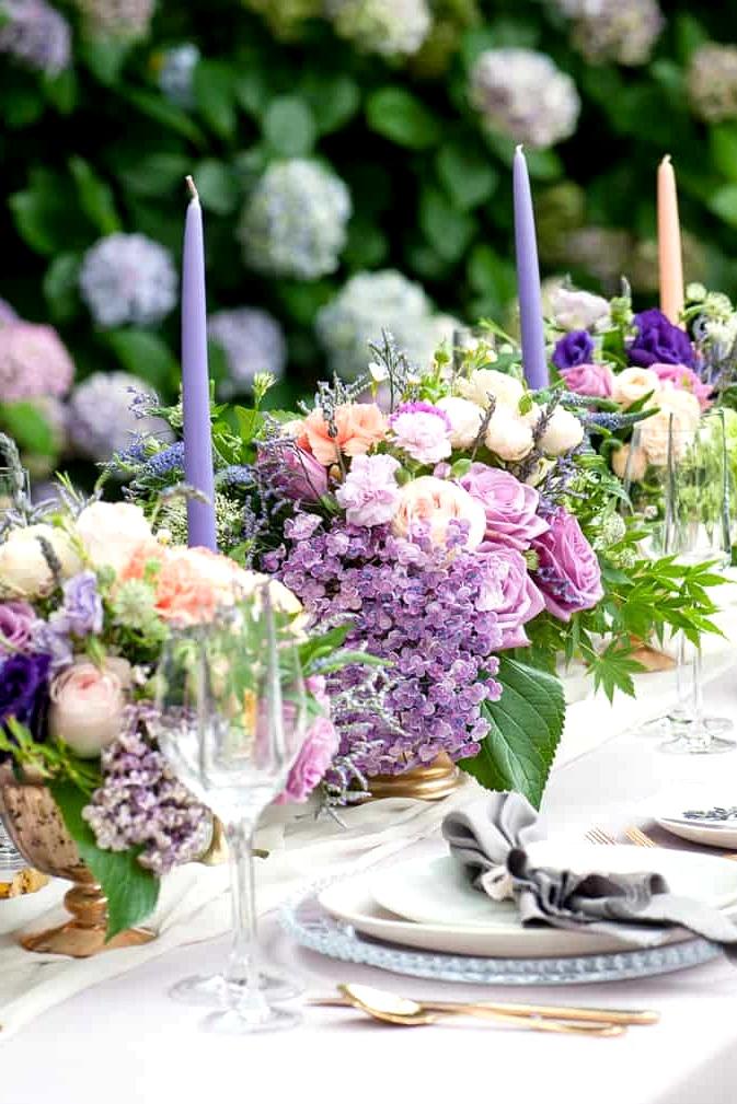 Watercolour-Garden-Wedding-Inspiration-Reception-Centrepiece-6