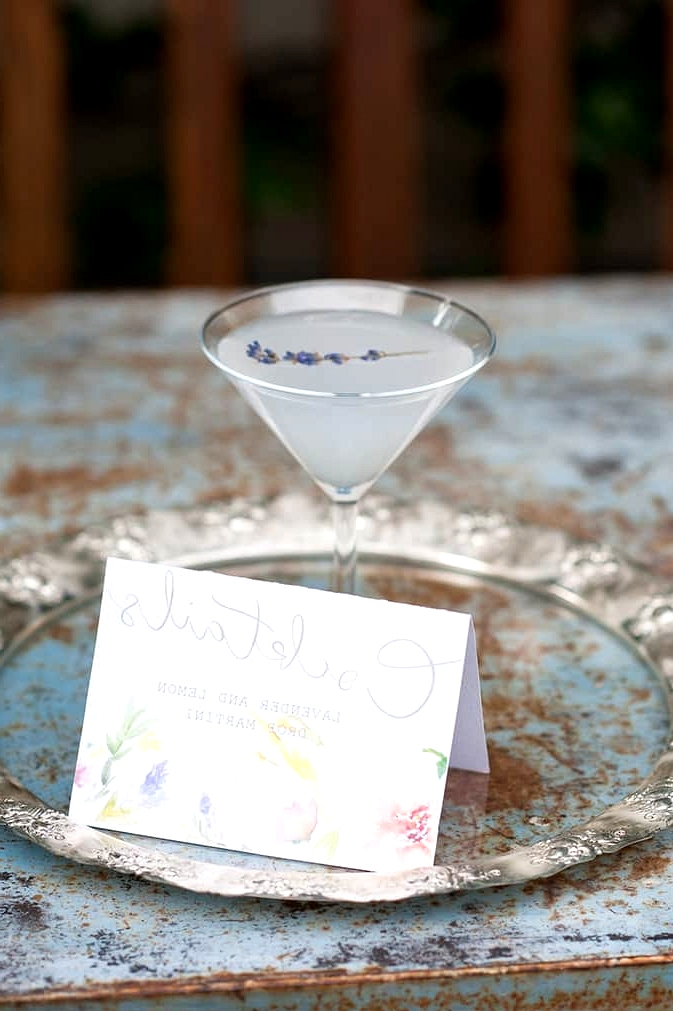 Watercolour-Garden-Wedding-Inspiration-Lavender-Cocktail