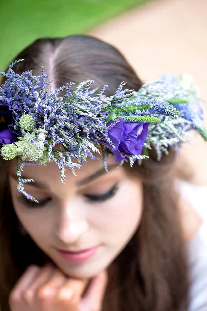 Watercolour-Garden-Wedding-Inspiration-Lavender-Flower-Crown-2