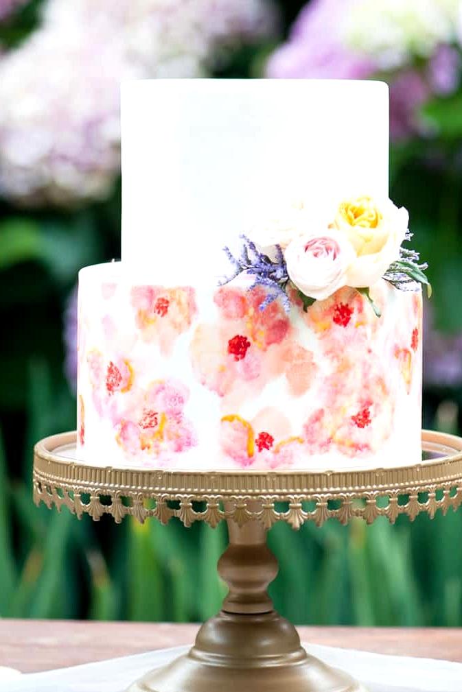 Watercolour-Garden-Wedding-Inspiration-Cake